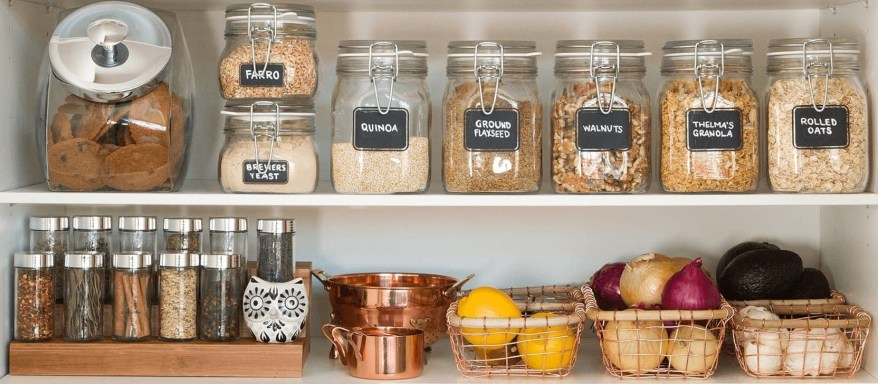 Simple Minimalist Pantry Organization Ideas 50