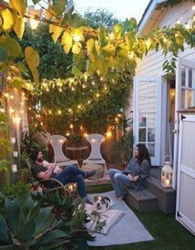 Attractive Small Patio Garden Design Ideas For Your Backyard 11