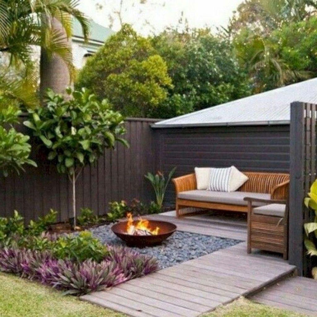 Attractive Small Patio Garden Design Ideas For Your Backyard 42