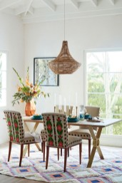 Awesome Bohemian Dining Room Design And Decor Ideas 08