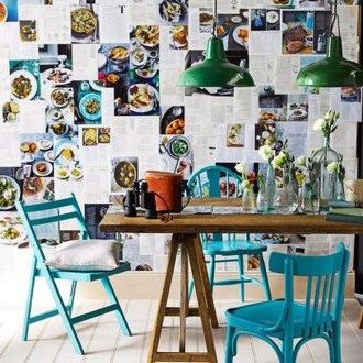 Awesome Bohemian Dining Room Design And Decor Ideas 09