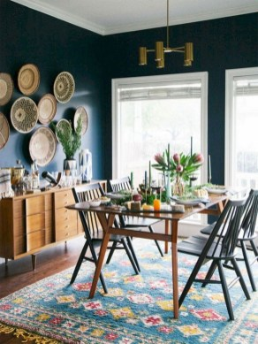 Awesome Bohemian Dining Room Design And Decor Ideas 30