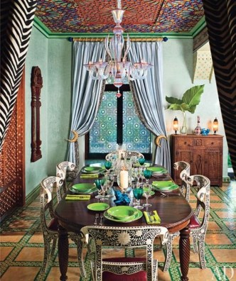 Awesome Bohemian Dining Room Design And Decor Ideas 50