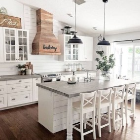 Awesome Farmhouse Kitchen Design Ideas 32
