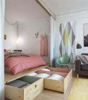 Creative Diy Bedroom Storage Ideas For Small Space 11