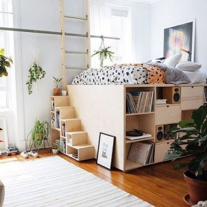 Creative Diy Bedroom Storage Ideas For Small Space 32