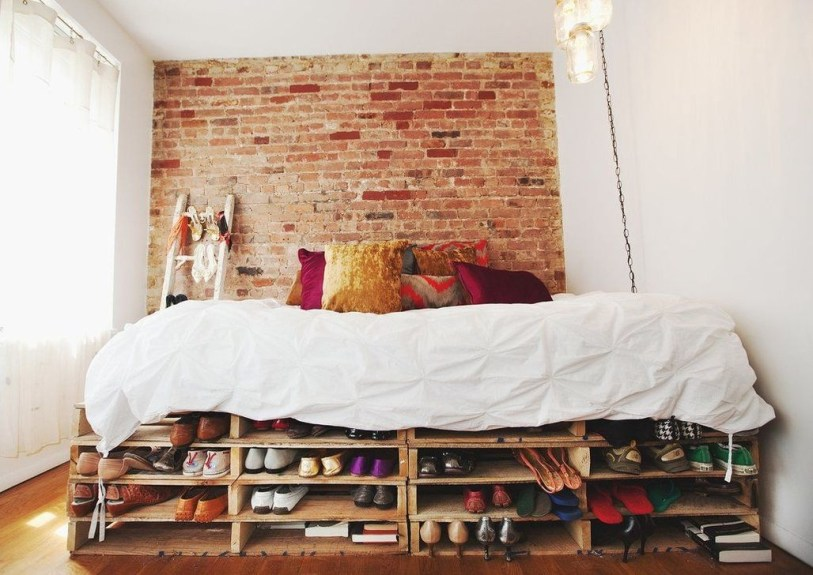 Lovely Diy Wooden Platform Bed Design Ideas 24