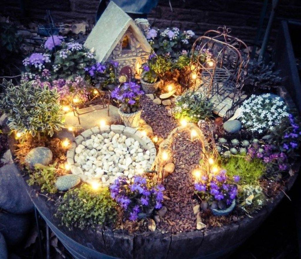 Magnificient Diy Fairy Garden Ideas With Plants 33