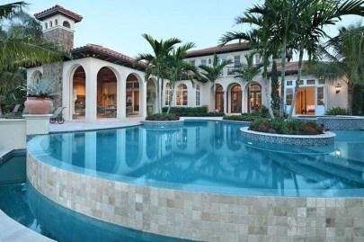 Perfect Mediteranean Swimming Pool Design Ideas 07