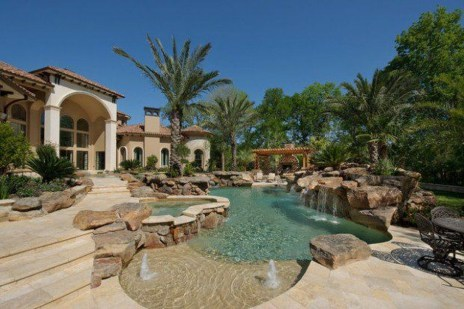 Perfect Mediteranean Swimming Pool Design Ideas 22