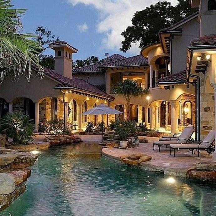 Perfect Mediteranean Swimming Pool Design Ideas 52