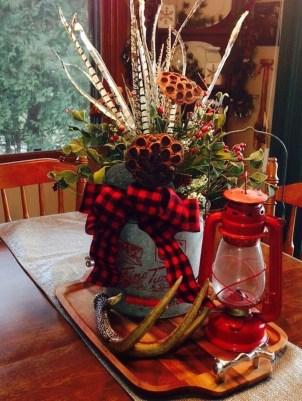 Romantic Rustic Christmas Decoration Ideas 14