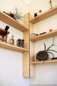 Amazing Corner Shelves Design Ideas 14