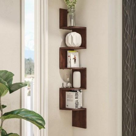 Amazing Corner Shelves Design Ideas 22