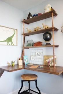Amazing Corner Shelves Design Ideas 49