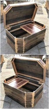 Elegant Diy Pallet Furniture Design Ideas 37