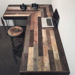 Elegant Diy Pallet Furniture Design Ideas 49