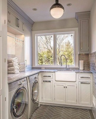 Enjoying Laundry Room Ideas For Small Space 08