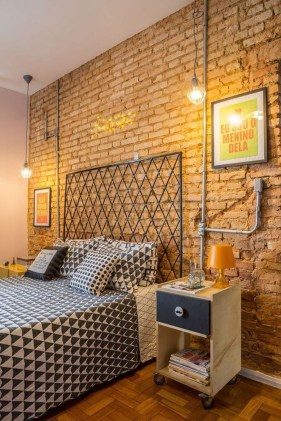 Fantastic Industrial Bedroom Design Ideas 17