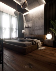 Fantastic Industrial Bedroom Design Ideas 31