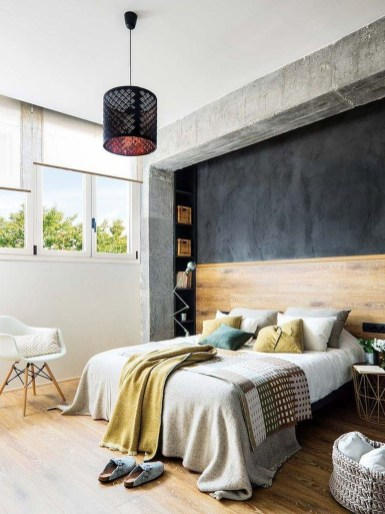 Fantastic Industrial Bedroom Design Ideas 53