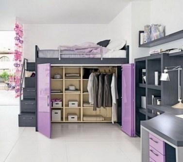 Relaxing Small Loft Bedroom Designs 11