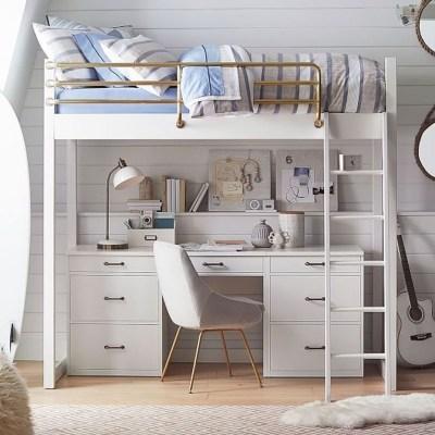Relaxing Small Loft Bedroom Designs 20