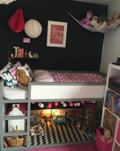 Relaxing Small Loft Bedroom Designs 47