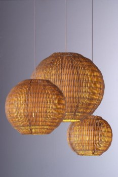 Adorable Hanging Lamp Designs Ideas From Rattan 38