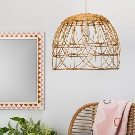 Adorable Hanging Lamp Designs Ideas From Rattan 52