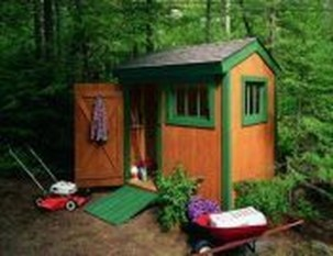 Cool Small Storage Shed Ideas For Garden 11