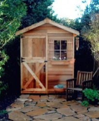 Cool Small Storage Shed Ideas For Garden 41