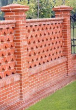 Cute Garden Fences Walls Ideas 47