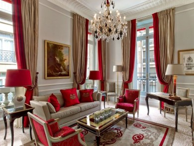 Impressive French Style Living Room Designs Ideas 11