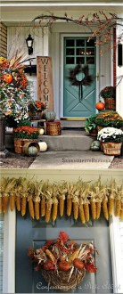 Incredible Autumn Decorating Ideas For Backyard 22