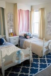 Inspiring Shared Kids Room Design Ideas 05