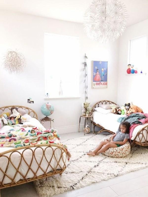Inspiring Shared Kids Room Design Ideas 56
