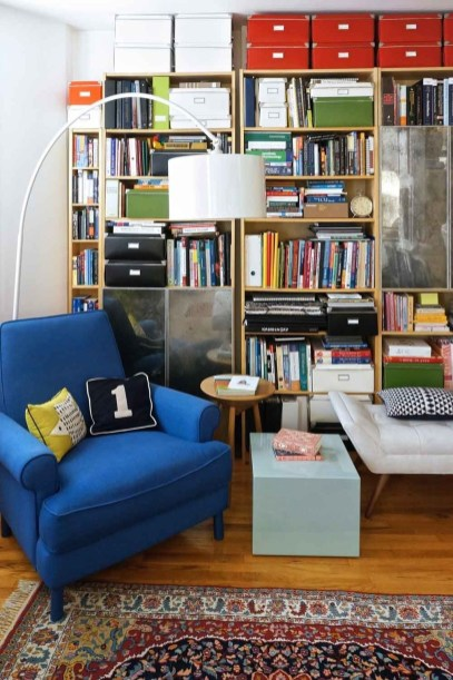 Modern Vibrant Rooms Reading Ideas 41