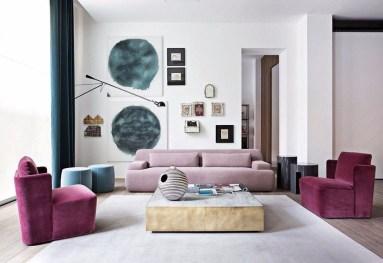 Popular Velvet Sofa Designs Ideas For Living Room 05