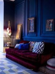 Popular Velvet Sofa Designs Ideas For Living Room 44
