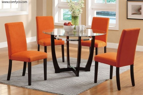Striking Round Glass Table Designs Ideas For Dining Room 08