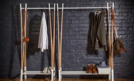 Stunning Clothes Rail Designs Ideas 12
