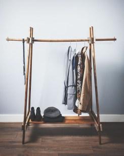 Stunning Clothes Rail Designs Ideas 17