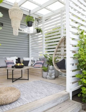 Comfy Porch Design Ideas For Backyard 29