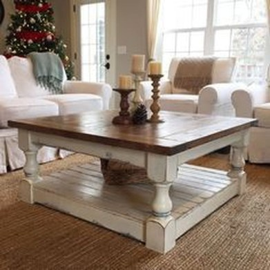 Cute Farmhouse Table Design Ideas Which Is Not Outdated 09