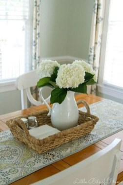 Cute Farmhouse Table Design Ideas Which Is Not Outdated 24