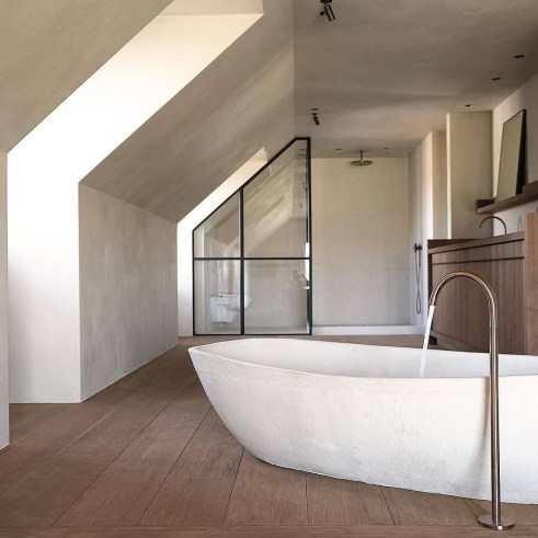 Elegant Bathtub Design Ideas 22