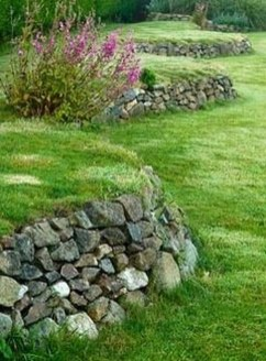 Gorgeous Front Yard Retaining Wall Ideas For Front House 11
