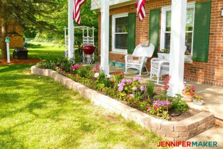 Gorgeous Front Yard Retaining Wall Ideas For Front House 32