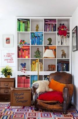 Modern Vibrant Rooms Reading Ideas 25